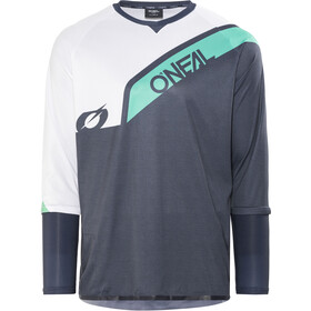 ONeal Stormrider - Maillot manches longues Homme - gris/blanc